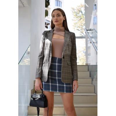 Классический пиджак в клтеку