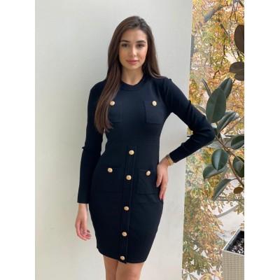Тёплое платье Balma 2027#