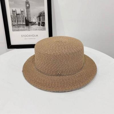 Шляпа с камешками по борту