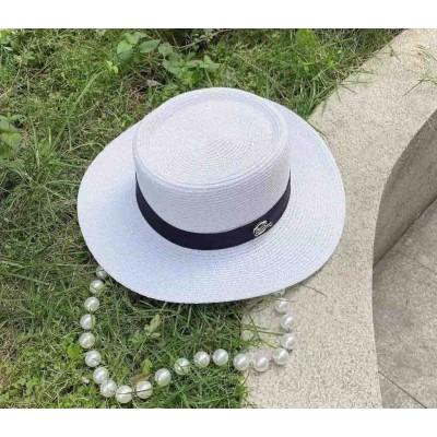 Шляпа женская с бусами
