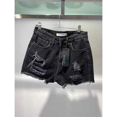 Шорты джинсовые Hit me up 6712#