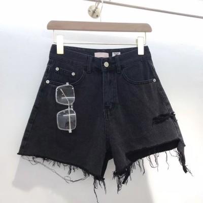 Джинсовые шорты без карманов сзади SOSNYLI